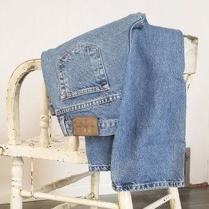 Calvin Klein Button Fly Jeans